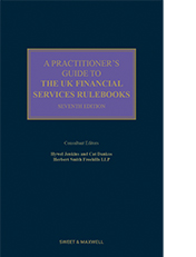 Practitioner's Guide to the UK Financial Services Rulebooks, A