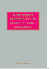 Employment Precedents and Company Policy Documents