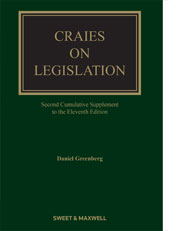 Craies on Legislation