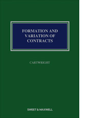 Formation and Variation of Contract