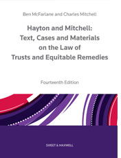 Hayton and Mitchell on the Law of Trusts and Equitable Remedies