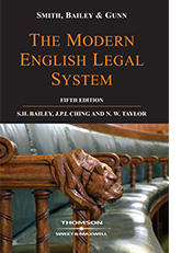 Smith, Bailey & Gunn on The Modern English Legal System