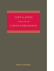 Goff & Jones: The Law of Unjust Enrichment