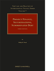 Project Finance, Securitisations and Subordinated Debt