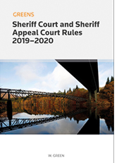 Sheriff Court and Sheriff Appeal Court Rules 2019/20