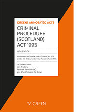 Criminal Procedure (Scotland) Act 1995
