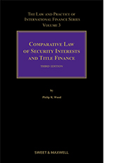 Comparative Law of Security Interests and Title Finance