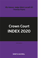 Crown Court Index 2020