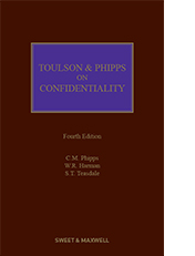 Toulson & Phipps on Confidentiality