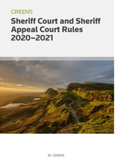 Greens Sheriff Court and Sheriff Appeal Court Rules