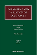 Formation and Variation of Contracts