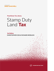 Stamp Duty Land Tax