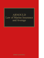 Arnould Law of Marine Insurance and Average