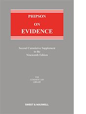 Phipson on Evidence