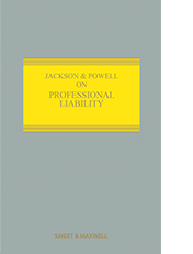 Jackson & Powell on Professional Liability