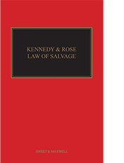 Kennedy and Rose on the Law of Salvage