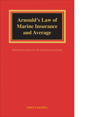 Arnould: Law of Marine Insurance and Average