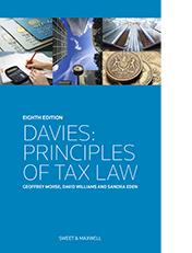 Davies principles of tax law 9780414037489 sweet maxwell davies principles of tax law fandeluxe Image collections