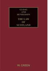 Gloag and Henderson: The Law of Scotland
