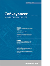 Conveyancer and Property Lawyer, The