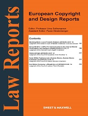 European Copyright and Design Reports