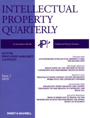 Intellectual Property Quarterly