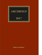 Archbold: Criminal Pleading, Evidence and Practice 2017