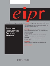 European Intellectual Property Review