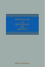 Bowstead & Reynolds on Agency
