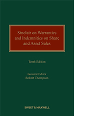 Sinclair on Warranties and Indemnities on Share and Asset Sales
