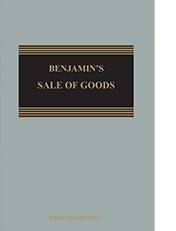 Benjamin's Sale of Goods